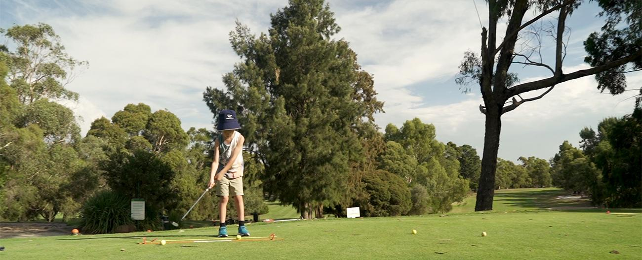 Junior Coaching at Morack Golf Course